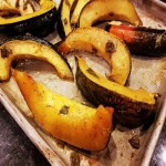 Sweet & Savory Roasted Acorn Squash